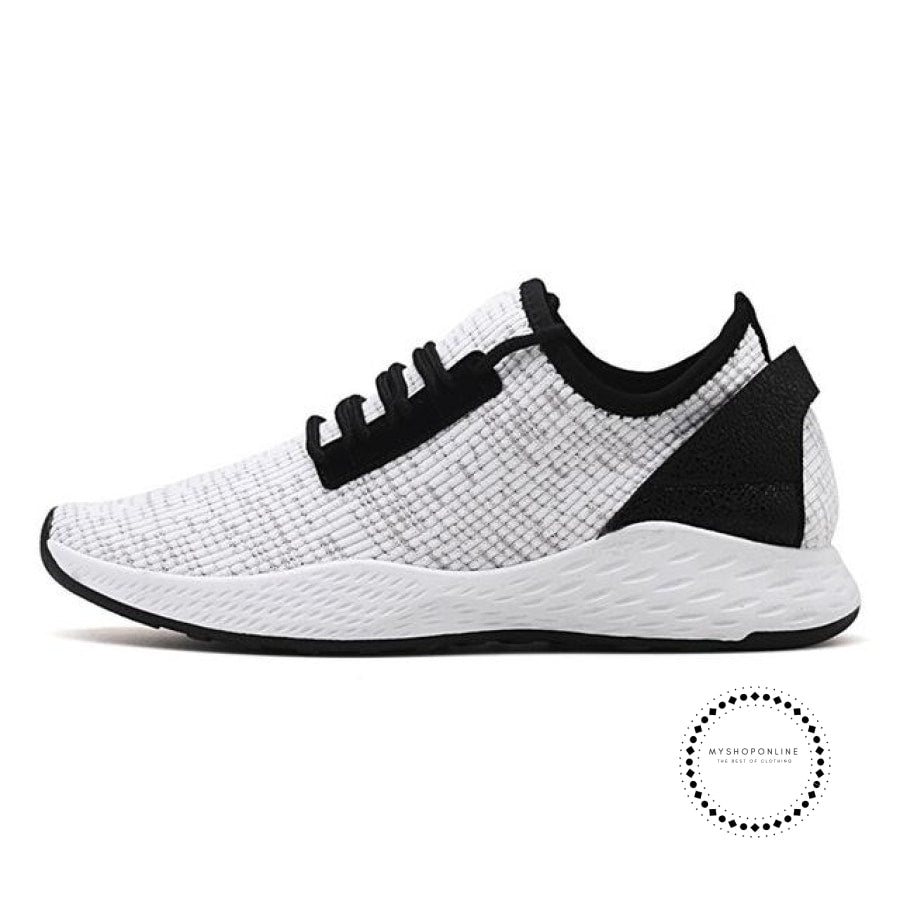 Summer Men Running Shoes Outdoor Jogging Training Sports Sneakers Breathable Mesh For White K99 /