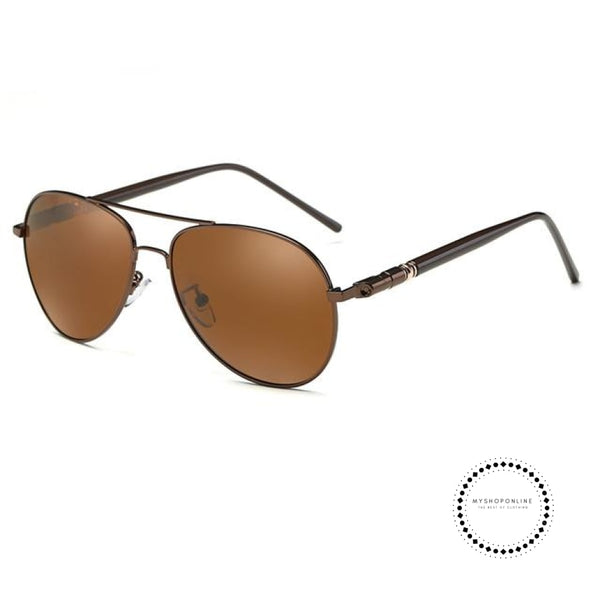 Sunglasses Driving Uv400 Brown Accesorios