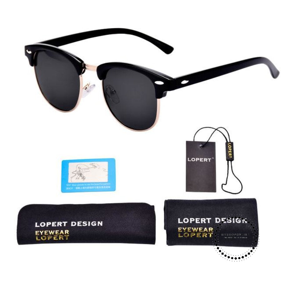 Sunglasses For Men And Women Sun Glasses Set 1 Black Accesorios