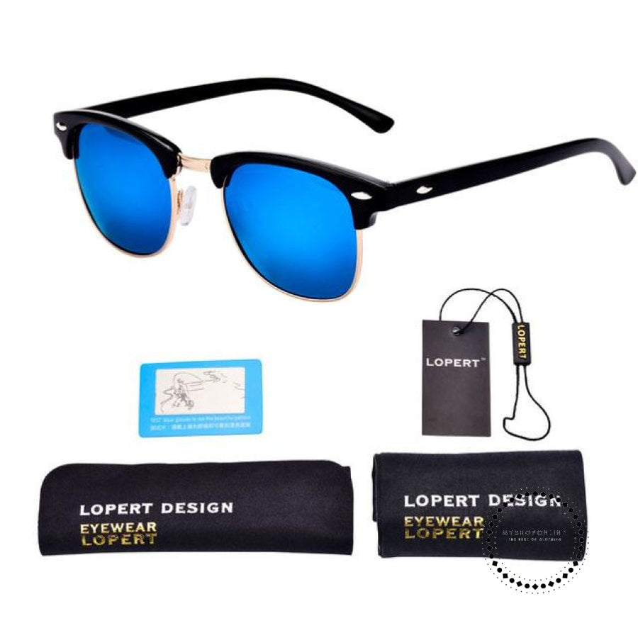 Sunglasses For Men And Women Sun Glasses Set 1 Black Blue Accesorios