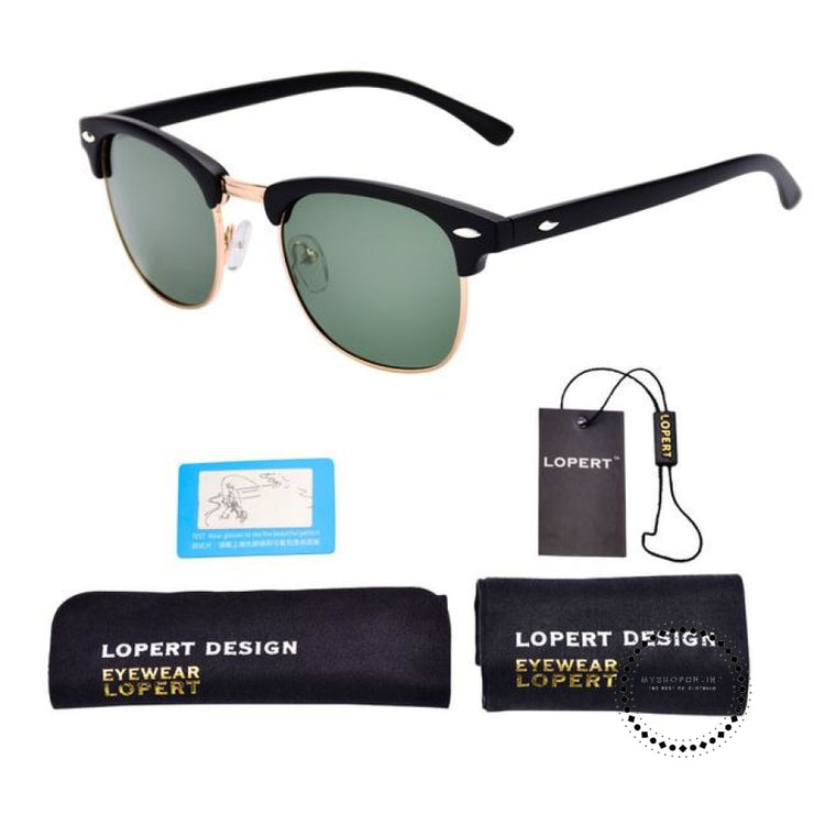 Sunglasses For Men And Women Sun Glasses Set 1 Black Green Accesorios