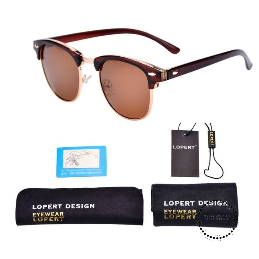 Sunglasses For Men And Women Sun Glasses Set 1 Brown Accesorios