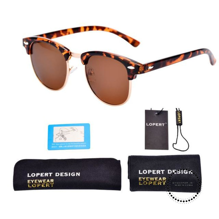 Sunglasses For Men And Women Sun Glasses Set 1 Leopard Brown Accesorios