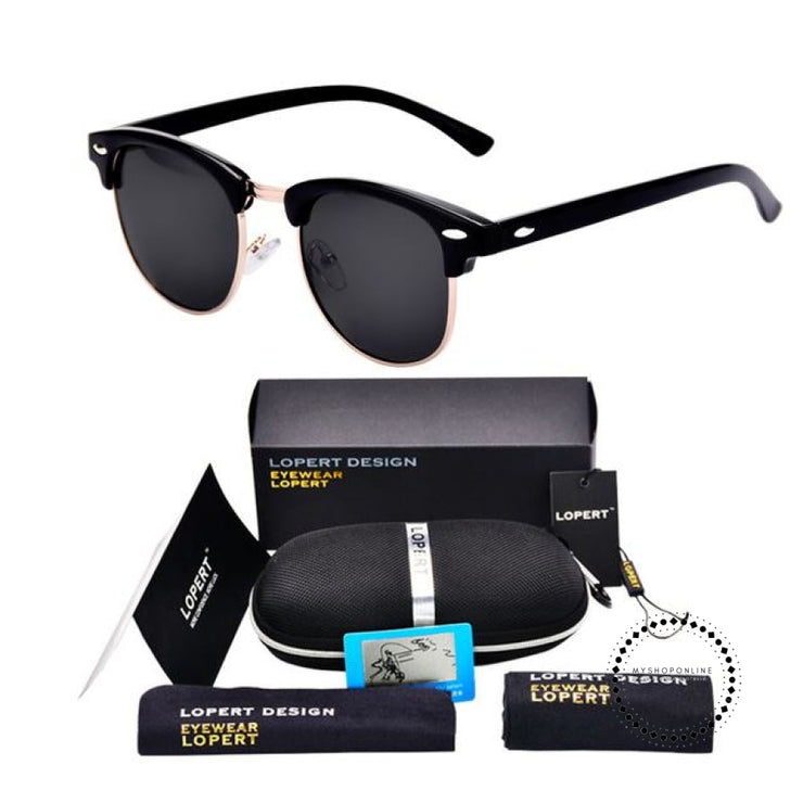 Sunglasses For Men And Women Sun Glasses Set 2 Black Accesorios