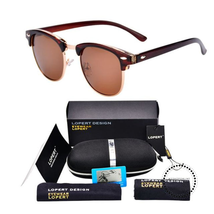 Sunglasses For Men And Women Sun Glasses Set 2 Brown Accesorios
