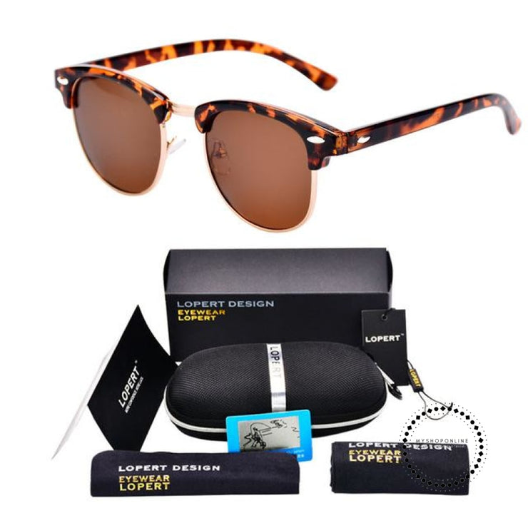 Sunglasses For Men And Women Sun Glasses Set 2 Leopard Brown Accesorios