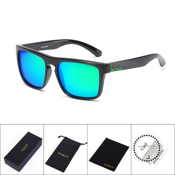 Sunglasses For Men N43 Black Green Accesorios