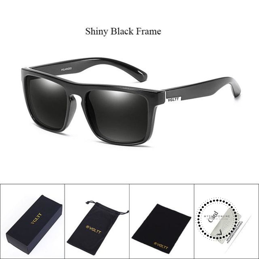 Sunglasses For Men N43 Shiny Black Accesorios