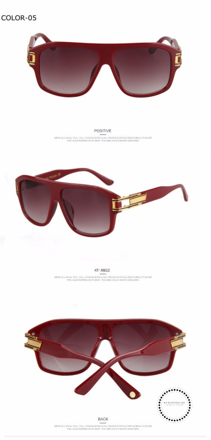 Sunglasses For Men Women Luxury Brand Designer Sun Glasses Male Ladies Accesorios
