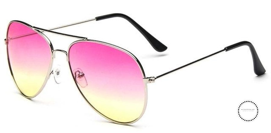 Sunglasses Women And Men Pink / Colors Accesorios