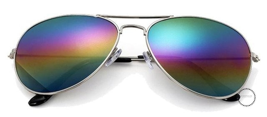 Sunglasses Women And Men Silver F Multi / Colors Accesorios