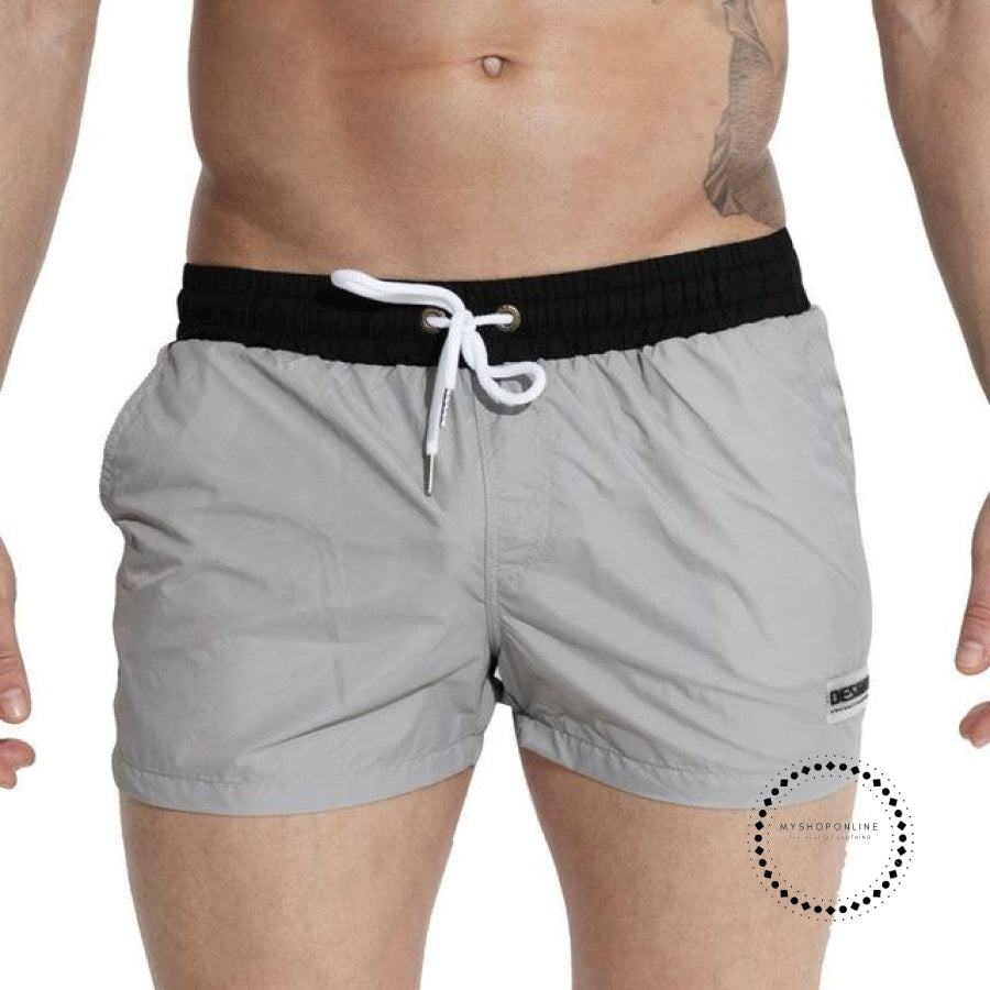 Swimwear Men Summer Swimming Shorts For Gray / M Accesorios