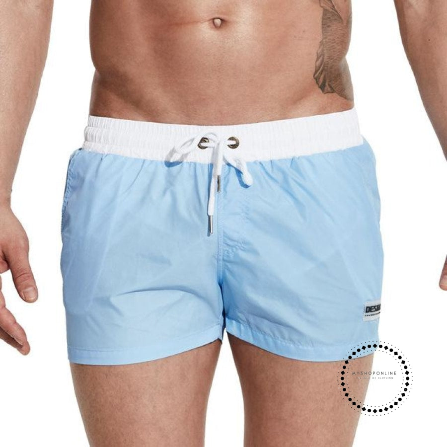 Swimwear Men Summer Swimming Shorts For Light Blue / M Accesorios