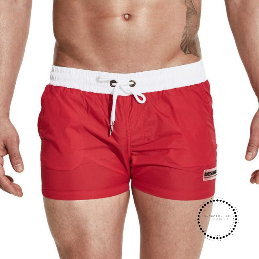 Swimwear Men Summer Swimming Shorts For Red / M Accesorios