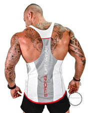 Tops Gyms Clothing Bodybuilding White / M Deporte