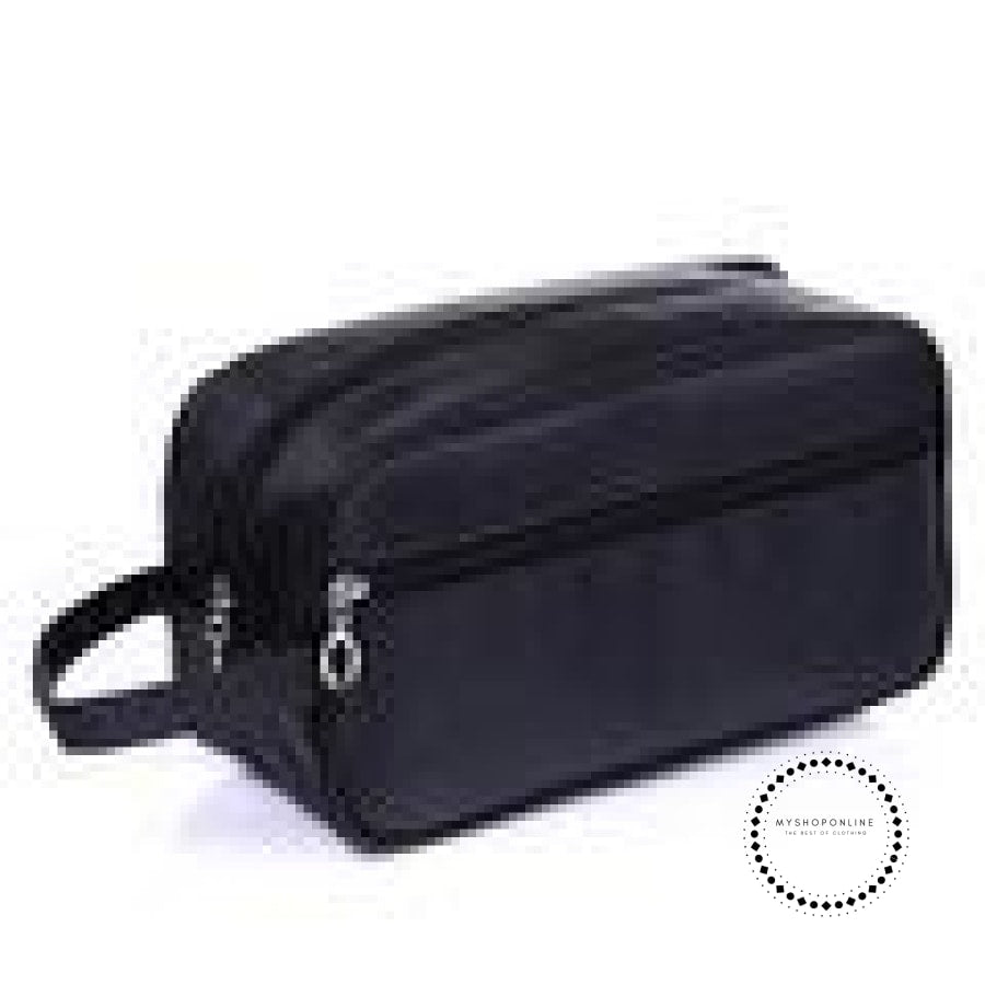 Travel Cosmetic Bag Men Wash Shaving Waterproof Toiletry Storage Large Capacity