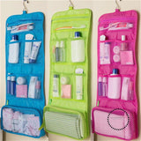 Travel Toiletry Bag Polyester Organizer Cosmetic Case Makeup Beauty Hanging
