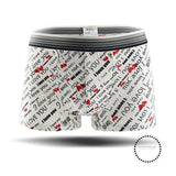 Underwear Men Cartoon Print Man Boxers Underpants 06 / L Accesorios