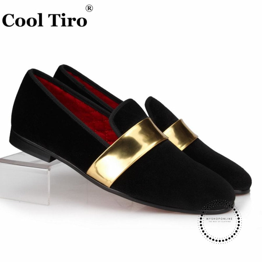 Velvet Loafers Mens Slippers Moccasins Dress Shoes Accesorios