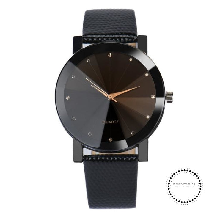 Watches Luxury All Black Accesorios