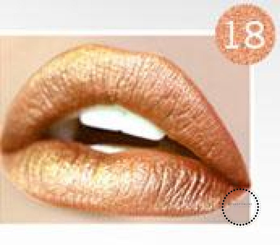 Waterproof Liquid Lipstick Makeup Women Cosmetic Matte 18 Accesorios