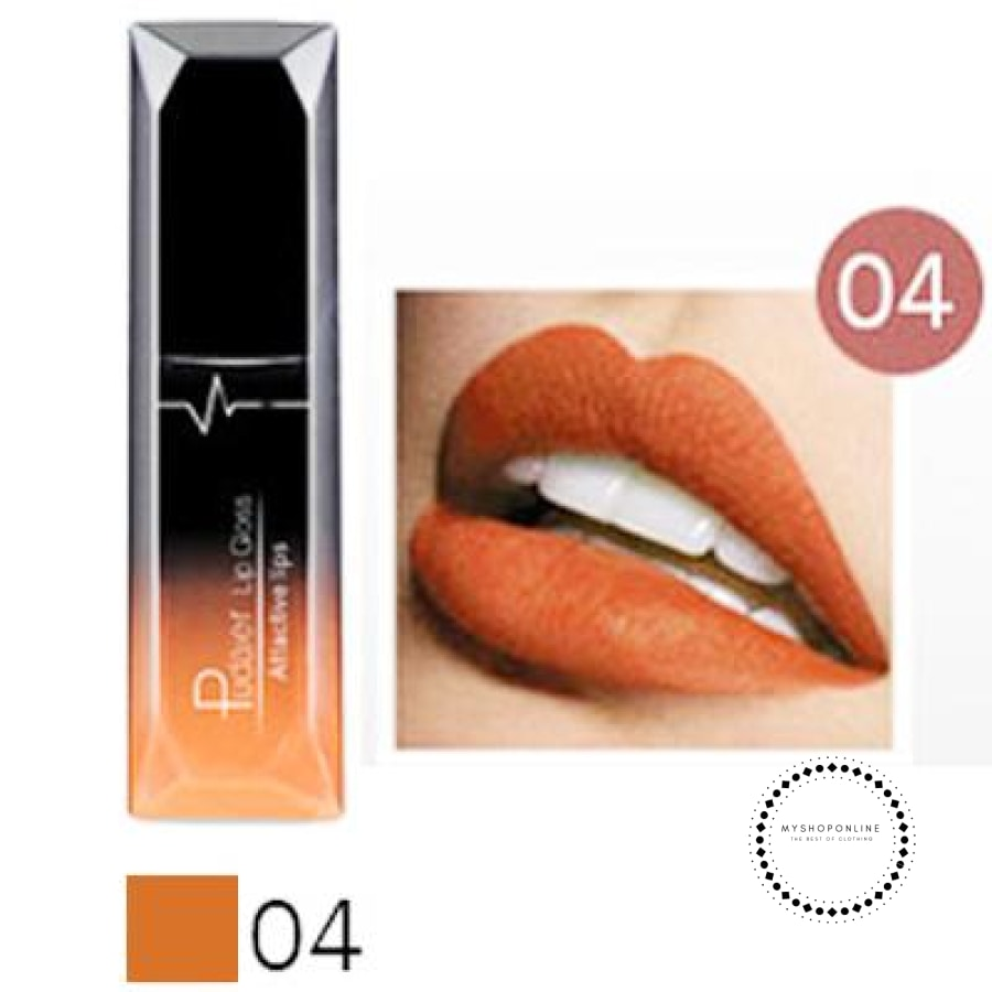 Waterproof Liquid Lipstick Makeup Women Cosmetic Matte 4 Accesorios