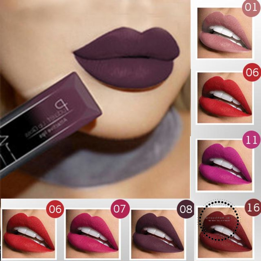 Waterproof Liquid Lipstick Makeup Women Cosmetic Matte Accesorios