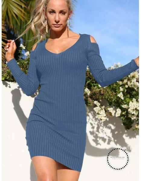 Winter Dress Dcd17328 Blue / S Accesorios