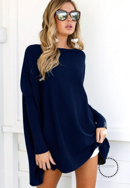 Winter Dress Zc2355 Dark Blue / S Accesorios