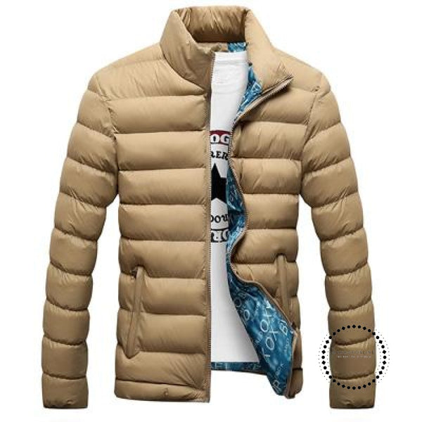 Winter Men Jacket Beige / M Accesorios