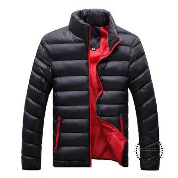 Winter Men Jacket Black Red / M Accesorios