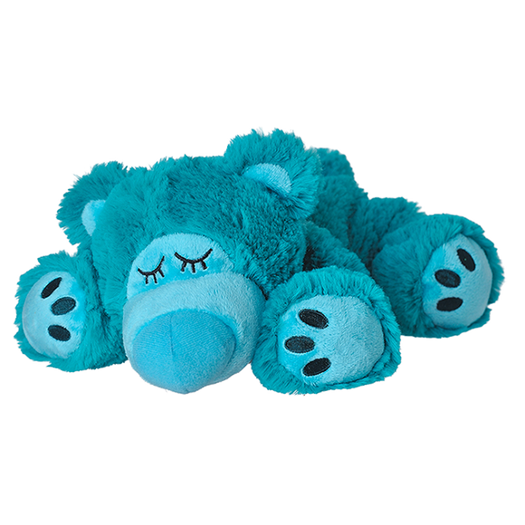 Warmies® Sleepy Bear türkis, Wärmestofftier