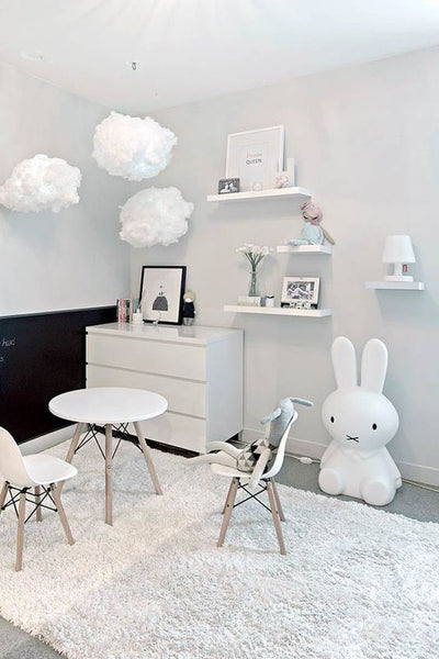 Looking Over The Internet People Have Used The Miffy Lamp For A Centre  Piece Of Their Nurseries. As Shown Below: