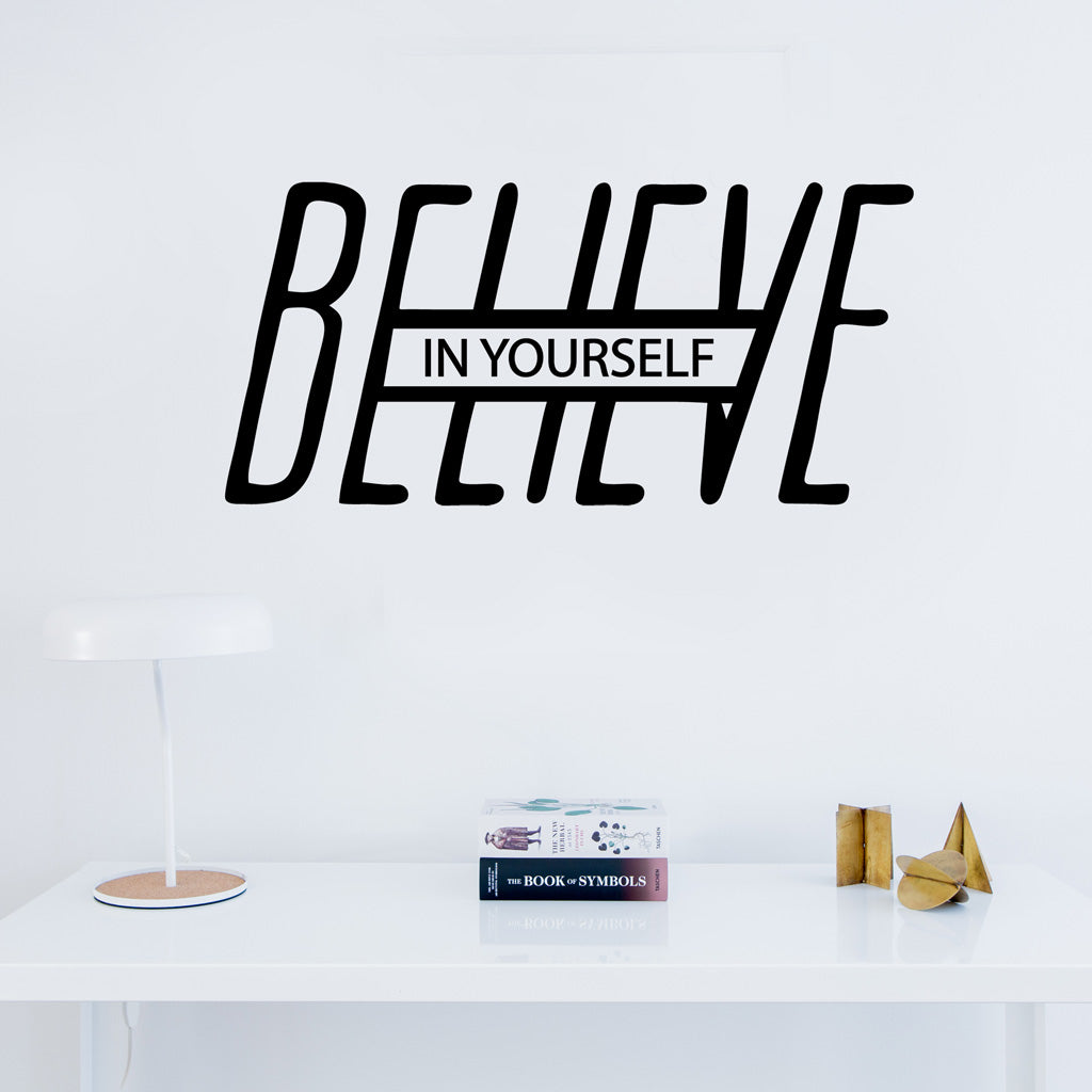 Believe In Yourself Wall Sticker Petite Penguin