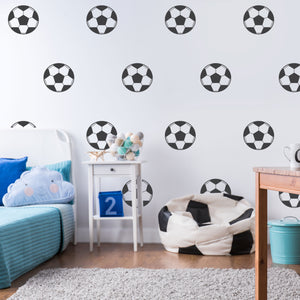 Football Wall Stickers Boys Room Decals Soccer Decals Boys