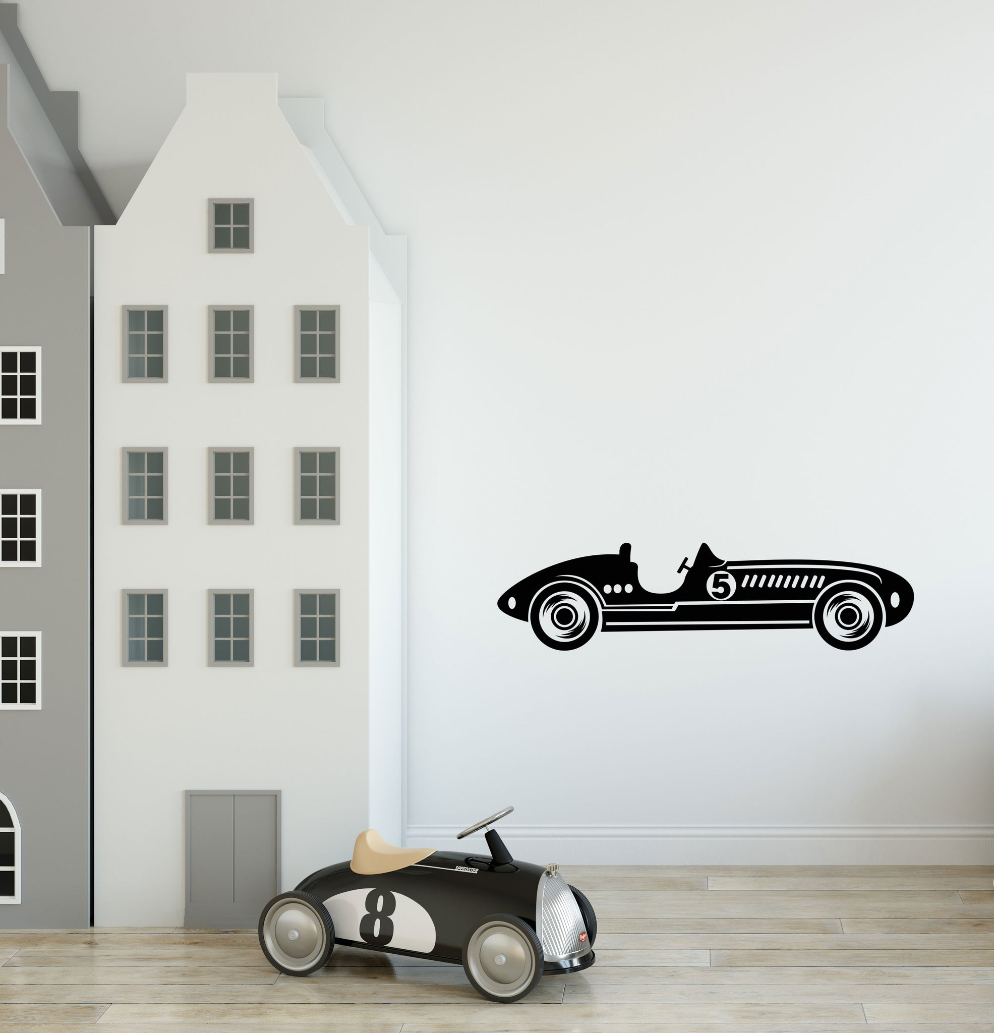 Boys Racing Car Wall Sticker | Racing Car Decal | Boys Wall Sticker | Boys  Nursery