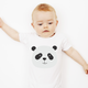 Printed Panda Baby Bodysuit | Baby Clothing | Animal Clothing For Kids | Cute Panda Baby Bodysuit