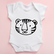 Cute Tiger Baby Bodysuit | Cute Baby Clothing | Safari Baby Clothing |  | Baby Bodysuits | Baby Romper| Tiger Baby Clothing| Tiger Toddler Clothing| Safari Clothing | Baby Zoo Clothing