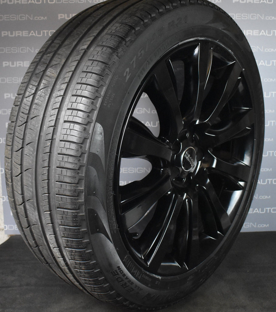 "Genuine Range Rover 21"" 101 Alloy Wheels With Winter Tyres"