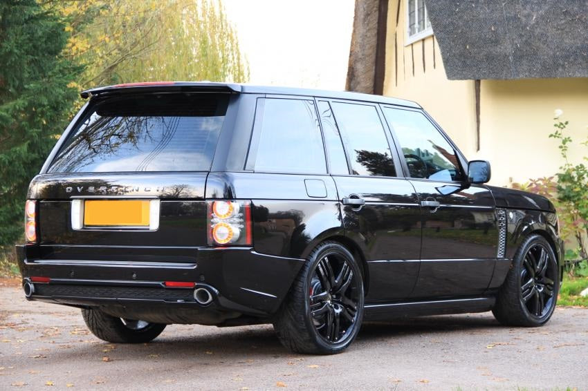 Overfinch Olympus 22 Inch Range Rover Alloy Wheels Gloss Black With Tyres