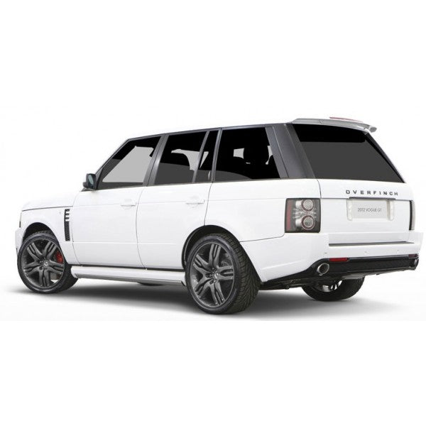 Overfinch Olympus 22 Inch Range Rover Alloy Wheels Anthracite Grey With Tyres
