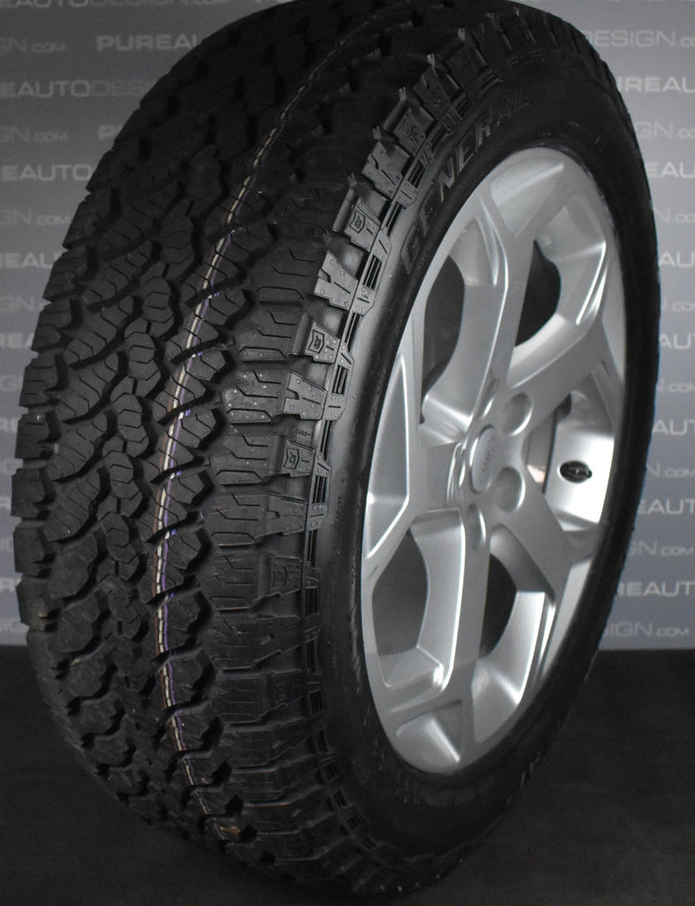 Copy of 20 inch Range Rover Gloss Black L405 502 Alloy Wheels With General Grabber AT3 Tyres