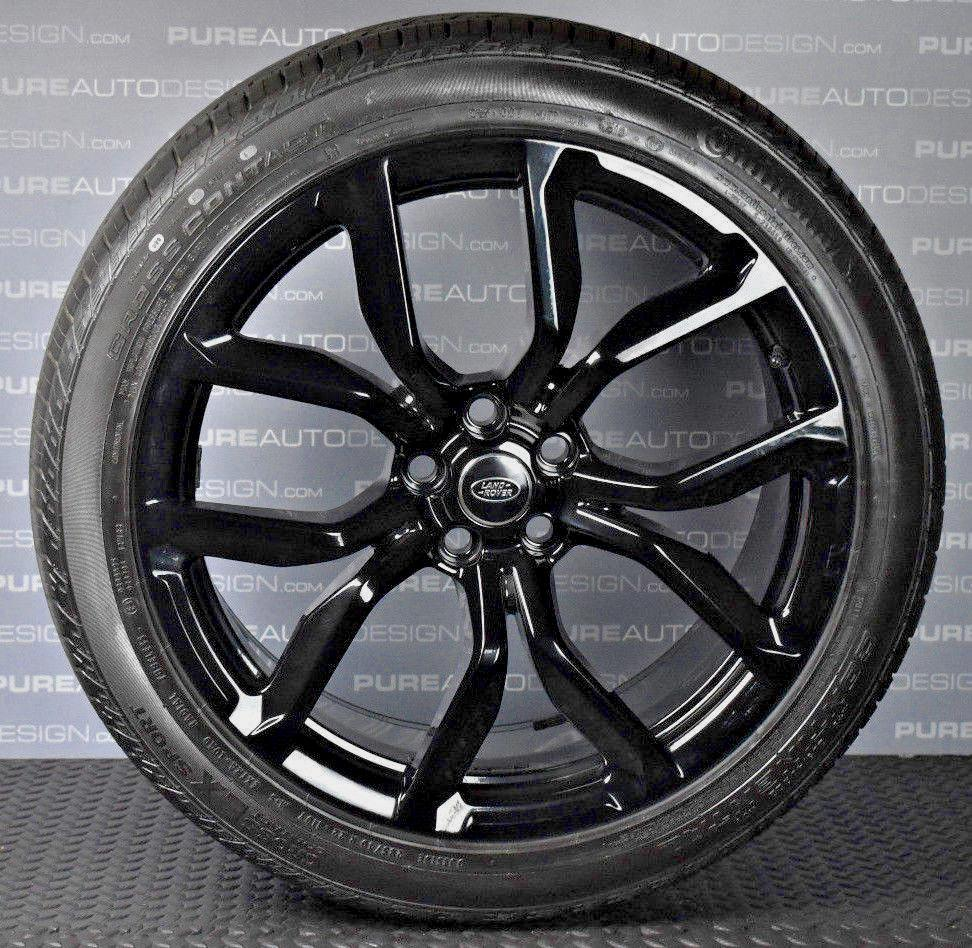 "Four 2018 Genuine OE 22"" Range Rover Sport SVR Alloy Wheels With 285 40 22 Tyres"
