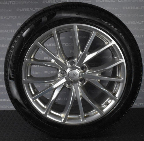 "Four 2018 Genuine OE 21"" Range Rover Sport SVR Alloy Wheels With Pirelli Tyres"