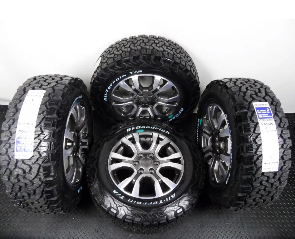 "Copy of Genuine 18"" Ford Ranger WildTrack Alloy Wheels & Bf Goodrich tyres"