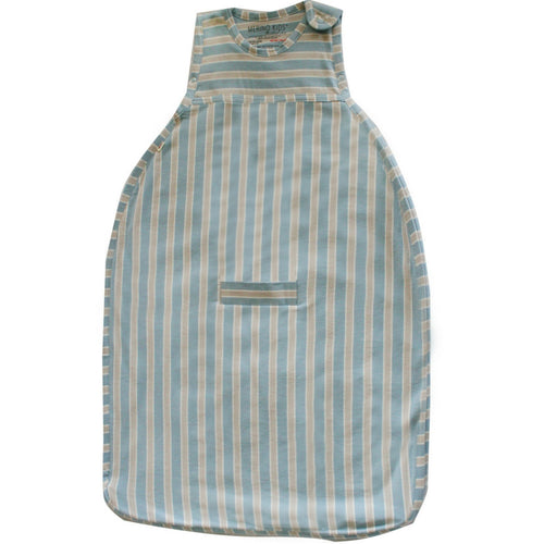 Winter Babyschlafsack Go Go Bag Sherpa Weight - Blue-Grey / Light Grey