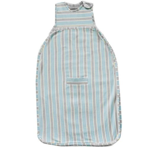 merino kids baby winterschlafsack blue grey striped