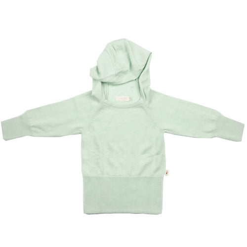merino-kids-hoodie-light-green