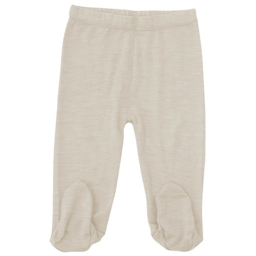 merino kids leggings cream