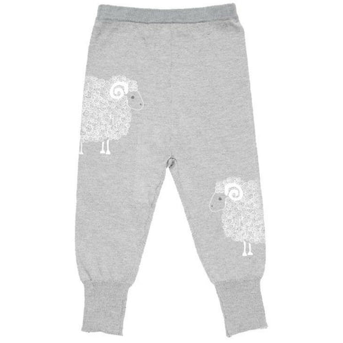 merino kids leggings grau